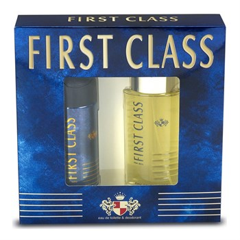 First Class For Men Parfüm 100ml + First Class For Men Deodorant 150ml