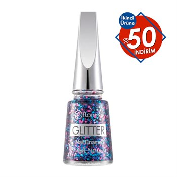 Flormar Glitter Oje No.GL09 Multicolor Shine