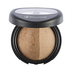 Flormar Baked Powder Pudra No:23 Dual Gold