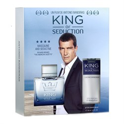 Antonio Banderas King Of Seduction EDT For Men Parfüm 100ml + After Shave Balm 100ml
