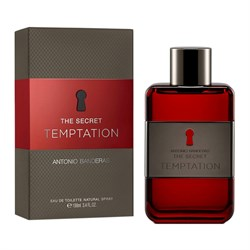 Antonio Banderas The Secret Temptation EDT Erkek Parfüm 100ml