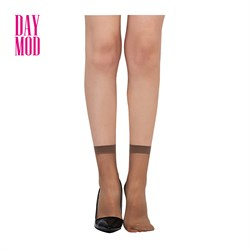 DayMod Lady Fit15 Soket Çorap 86/Vizon