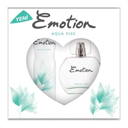 Emotion Aqua Kiss Kadın Parfüm 50ml + Emotion Aqua Kiss Kadın Deodorant 150ml