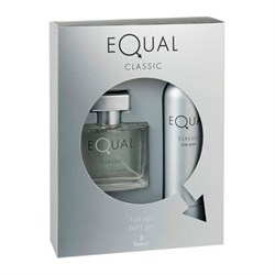 Equal Clasic Edt Parfüm 75ml + Equal Classic Deodorant 150ml Erkek