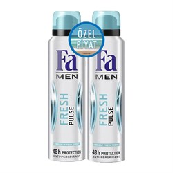 Fa Men Fresh Pulse 2li Deodorant 150ml