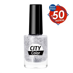 Golden Rose City Color Glitter  Oje No:101