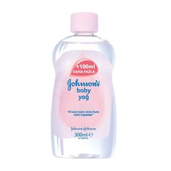 Johnsons Baby Yağ 300 Ml.