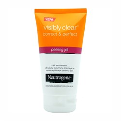 Neutrogena Visibly Clear Correct & Perfect Peeling Jel 150 ml