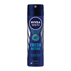 Nivea Deodorant Fresh Active Erkek 150 Ml