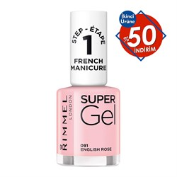 Rimmel London Super Gel French Manikür No.91